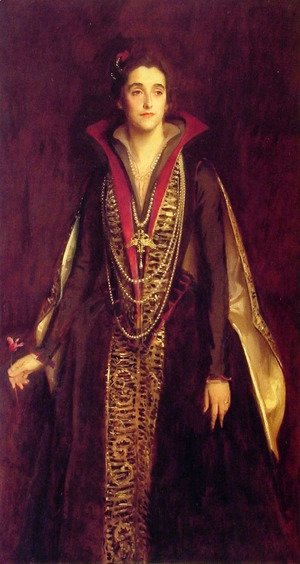 Sargent - The Countess of Rocksavage, later Marchioness of Cholmondeley