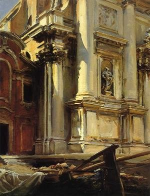 Corner of the Church of St. Stae, Venice