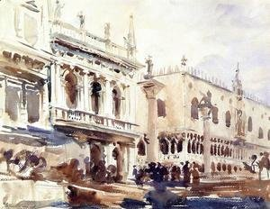 Sargent - The Piazzetta and the Doge's Palace
