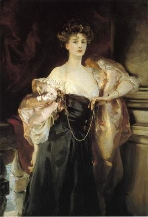Sargent - Portrait of Lady Helen Vincent, Viscountess d'Abernon