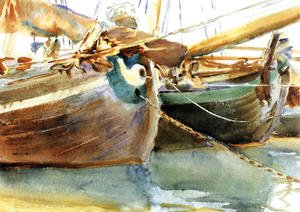 Sargent - Boats, Venice