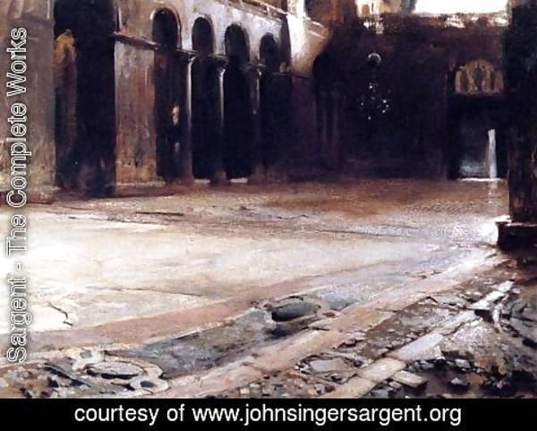 Sargent - Pavement of St. Mark's