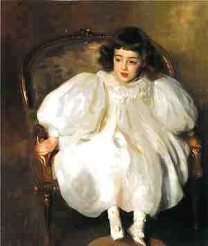 Sargent - Expectancy (or Portrait of Frances Winifred Hill)