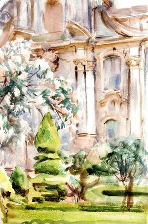 Sargent - A Palace and Gardens, Spain