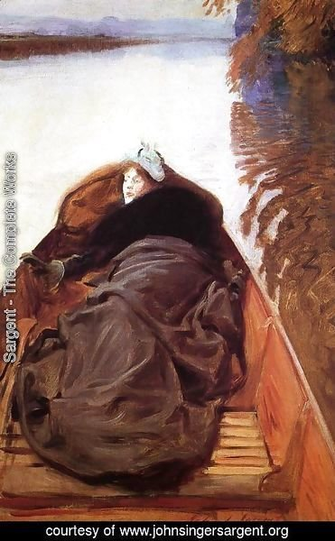 Sargent - Autumn on the River (or Miss Violet Sargent)