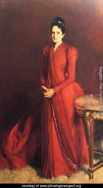 Portrait of Mrs. Elliott Fitch Shepard (or Margaret Louisa Vanderbilt)
