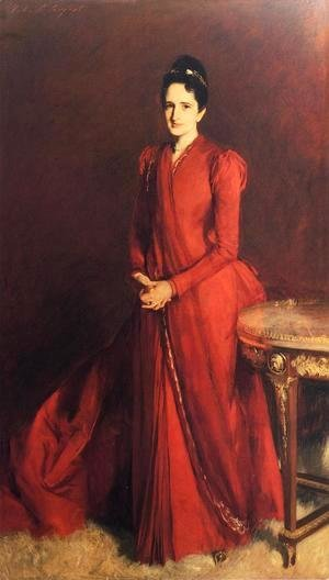 Sargent - Portrait of Mrs. Elliott Fitch Shepard (or Margaret Louisa Vanderbilt)