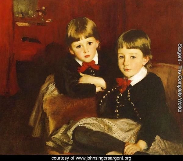 Portrait of Two Children (or The Forbes Brothers)