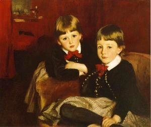 Sargent - Portrait of Two Children (or The Forbes Brothers)