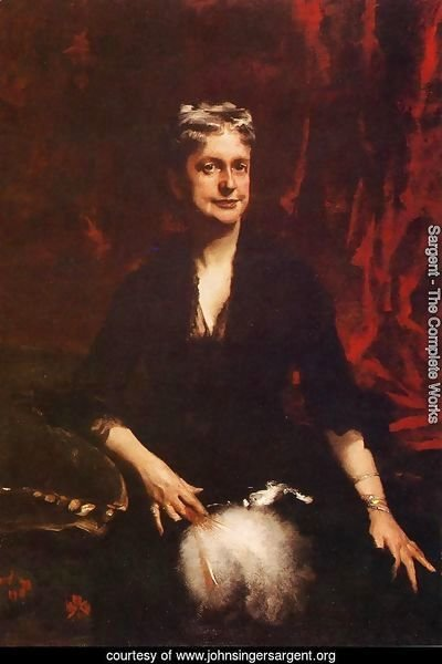 Portrait of Mrs. John Joseph Townsend (Catherine Rebecca Bronson)