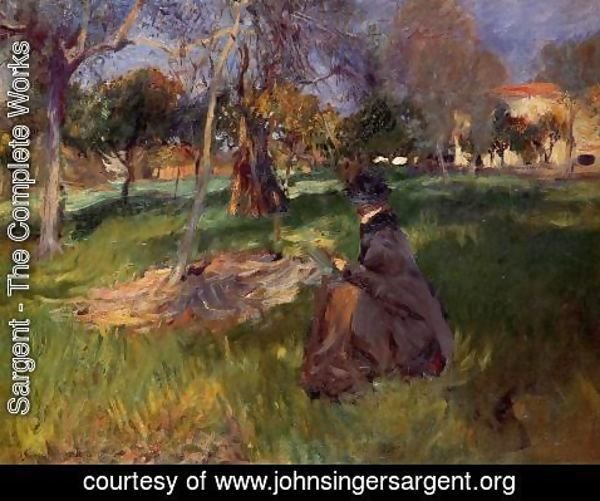 Sargent - In the Orchard
