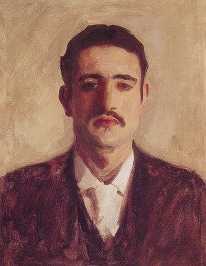 Sargent - Portrait of a Man (Probably Nicola D'Inverno)