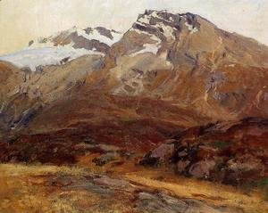 Sargent - Coming Down from Mont Blanc