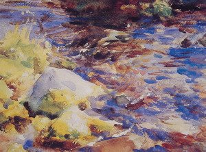 Sargent - Reflections Rocks and Water