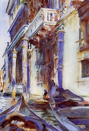 Sargent - On the Grand Canal
