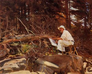 Sargent - The Artist Sketching