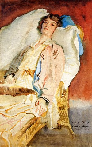 Sargent - Alice Runnels James (Mrs. William James)