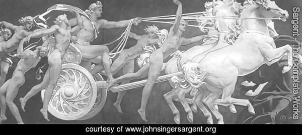 Apollo in His Chariot with the Hours