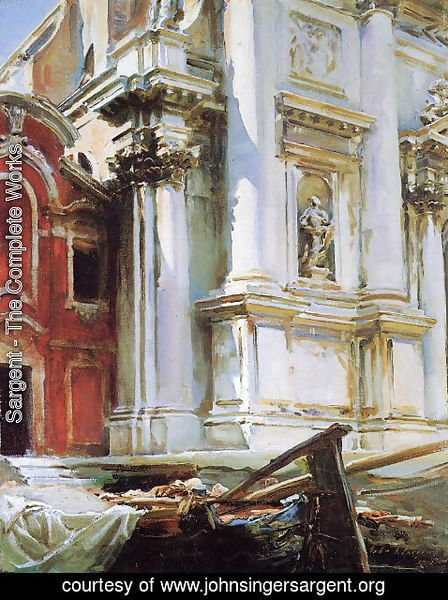 Sargent - Church of St. Stae, Venice