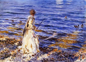 Sargent - Girl Fishing