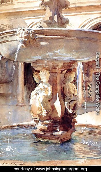 Sargent - Spanish Fountain