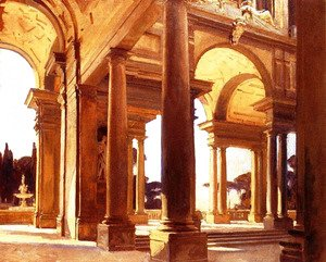 Sargent - A Study of Architecture, Florence