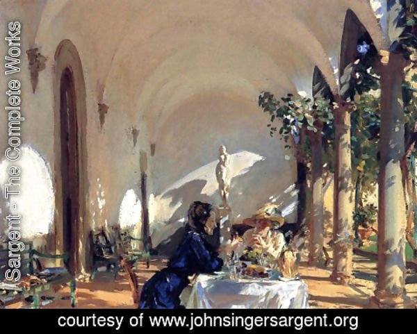 Sargent - Breakfast in the Loggia
