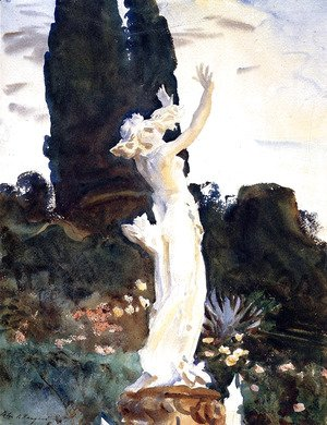 Sargent - Statue of Daphne