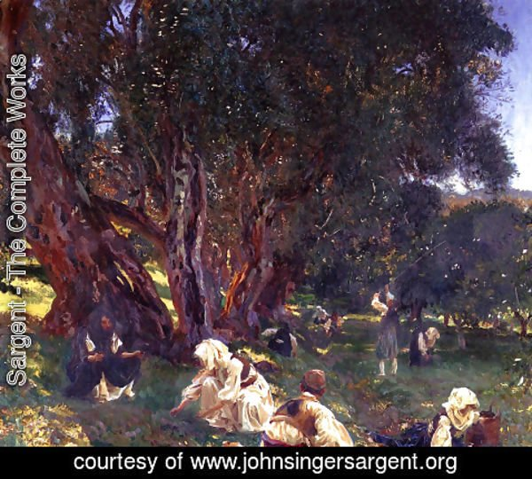 Sargent - Albanian Olive Pickers