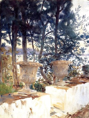 Sargent - Corfu: The Terrace