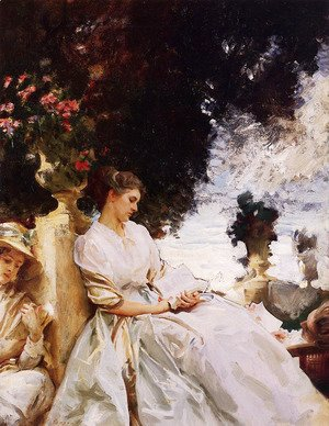 Sargent - In the Garden, Corfu