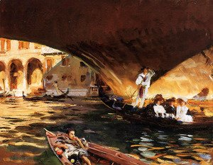 Sargent - The Rialto (Grand Canal)