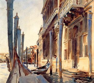 Sargent - Grand Canal, Venice