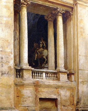 Sargent - A Window in the Vatican