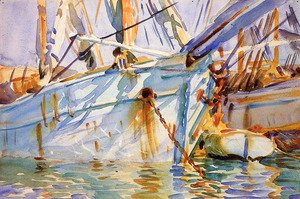 Sargent - In a Levantine Port