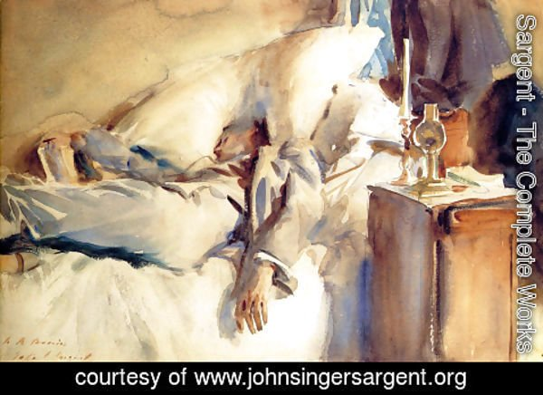 Sargent - Peter Harrison Asleep