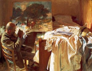 Sargent - An Artist in His Studio