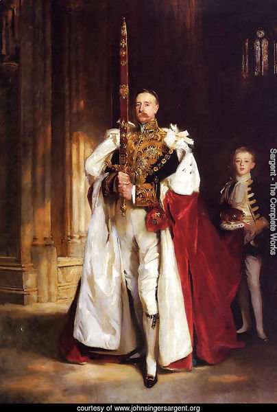 Charles Stewart, Sixth Marquess of Londonderry, Carrying the Great Sword of State at the Coronat