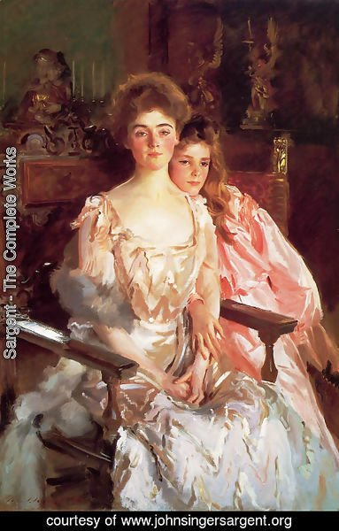 Sargent - Mrs. Fiske Warren and Her Daughter Rachel