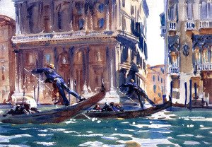 Sargent - On the Canal]