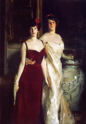 Sargent - Ena and Betty, Daughters of Asher and Mrs. Wertheimer