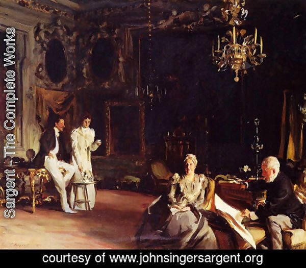 Sargent - An Interior in Venice