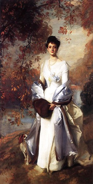 Sargent - Portrait of Pauline Astor
