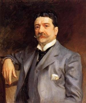 Sargent - Portrait of Louis Alexander Fagan