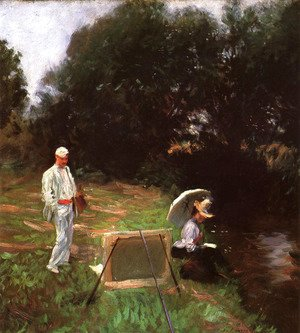 Sargent - Dennis Miller Bunker Painting at Calcot