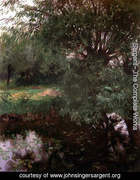 Sargent - A Backwater at Wargrave