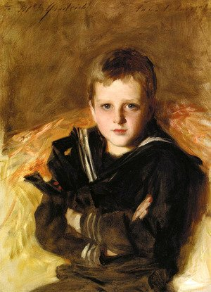 Sargent - Portrait of Caspar Goodrich