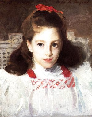 Sargent - Portrait of Miss Dorothy Vickers