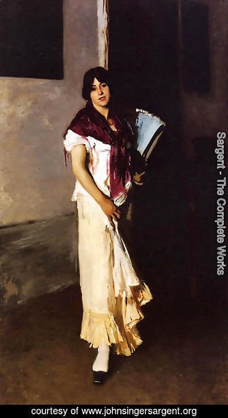 Sargent - Italian Girl with Fan