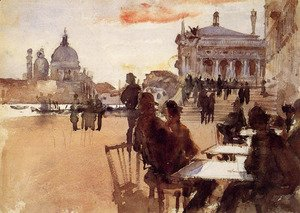 Sargent - Cafe on the Riva degli Schiavoni